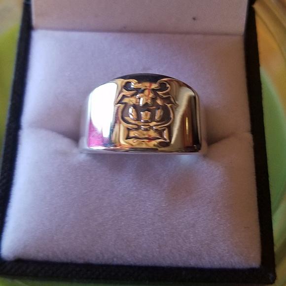 James Avery Jewelry - James Avery logo silver ring
